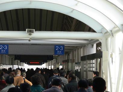 中国出張2010年11月(III)-第五日目-南京-上海高鉄(新幹線)移動_c0153302_1862293.jpg