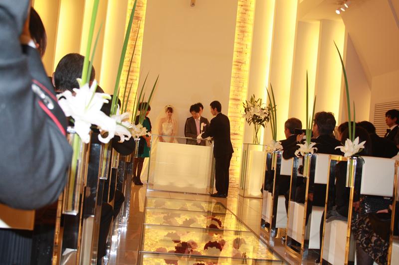 結婚式にいってきた~_f0229217_8223340.jpg