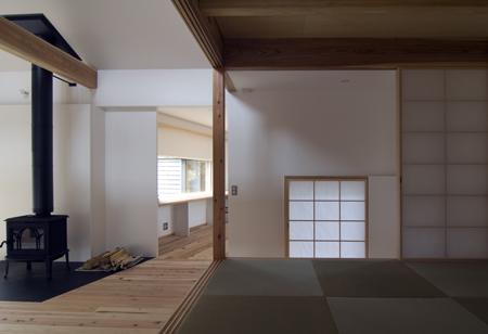 平屋(ユーカリが丘)の家_b0038919_1724462.jpg