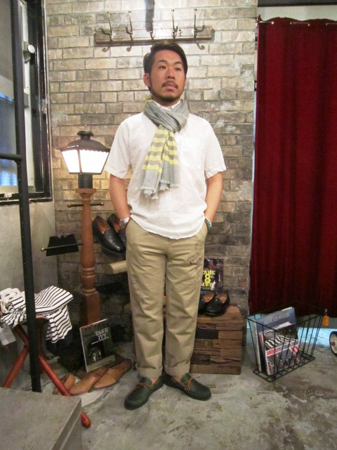 """SERO\"" COTTON LINEN WHITE P/O SHIRTS ご紹介 & お知らせ_f0191324_021493.jpg"