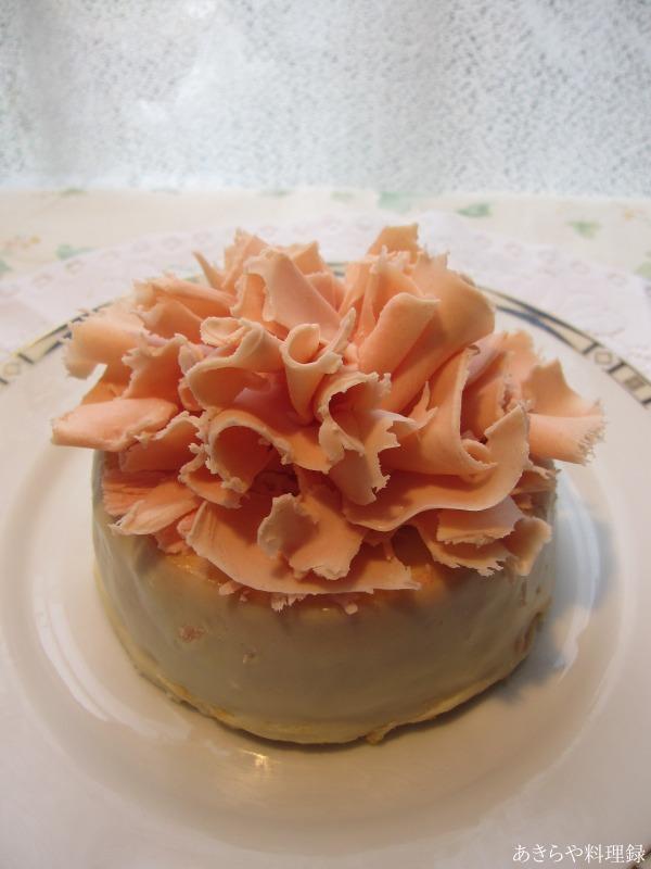 カーネーションケーキ...のようなもの_e0170734_2213420.jpg
