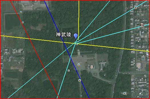 継体天皇陵墓のライン_a0237545_8393184.jpg