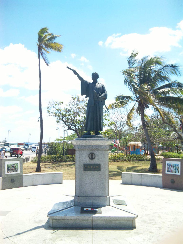 キューバを初めて訪れた日本人〜支倉常長像、ハバナ、キューバ〜_a0103940_23483716.jpg