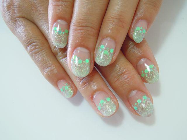 Green Nail_a0239065_1346201.jpg