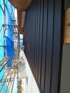ガルバリウム鋼板張 階段工事_f0059988_16574451.jpg