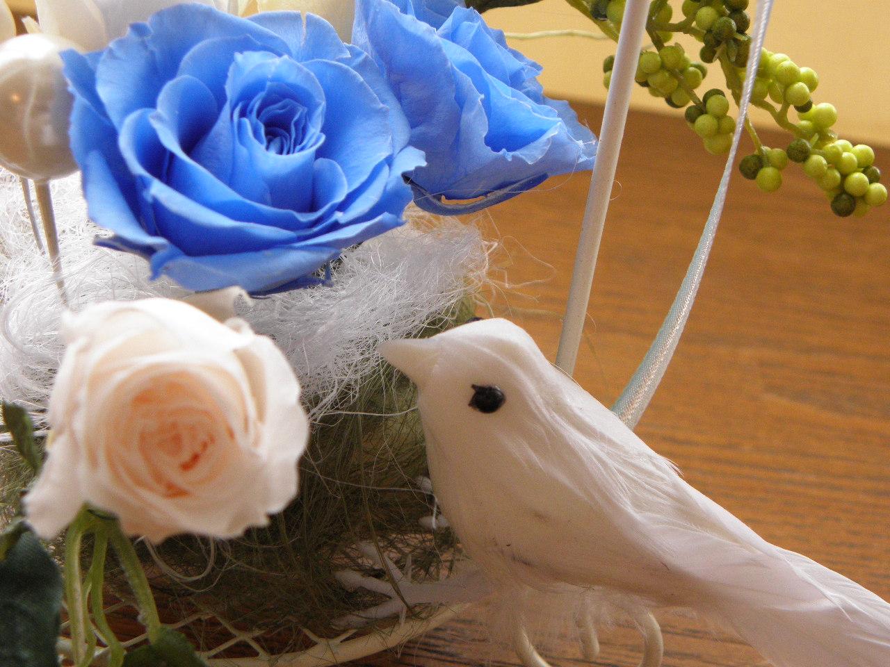小鳥のナチュラルアレンジレッスン♪_c0165914_17501028.jpg