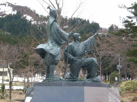 桜待つ二人_b0145843_0351262.jpg