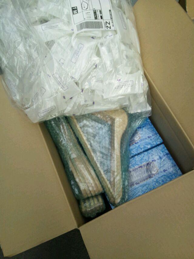 【ハテナバコ被災地支援PJ】 4/19 福島県相馬市に生活雑貨(新品)を送りました。_b0076951_9421494.jpg