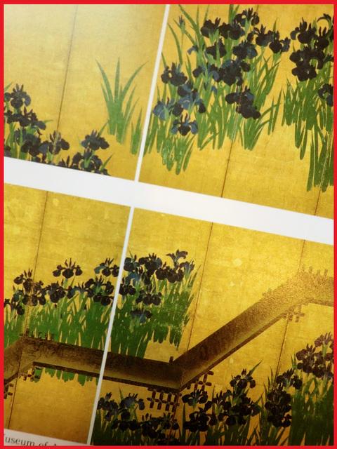 尾形光琳の「燕子花」、見たよ!春のシ・ア・ワ・セ。_e0236072_0431264.jpg