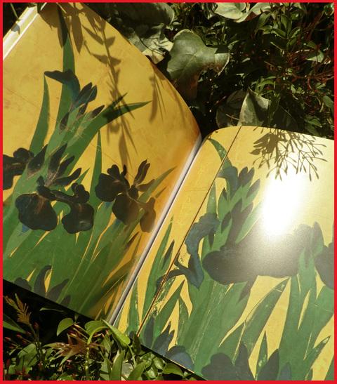 尾形光琳の「燕子花」、見たよ!春のシ・ア・ワ・セ。_e0236072_1185138.jpg