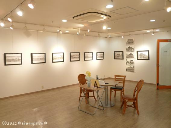 遅ればせながら、個展レポート・其の一 会場風景編 2012/4/26_f0099972_2355770.jpg