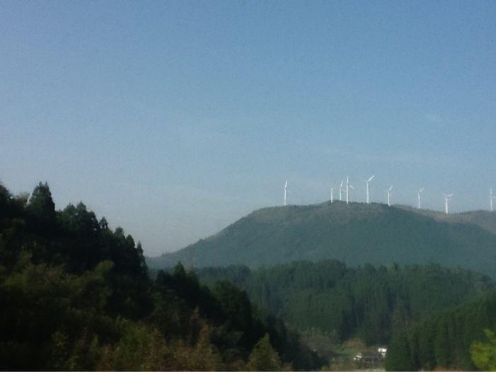 風力発電 大分県玖珠町_c0177195_18425237.jpg