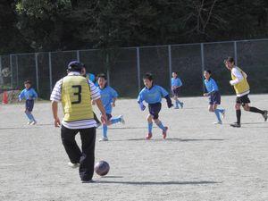 親子サッカー教室 6年生を送る会_c0218303_23153286.jpg