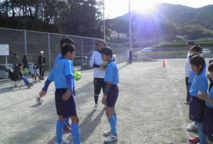 親子サッカー教室 6年生を送る会_c0218303_23234663.jpg