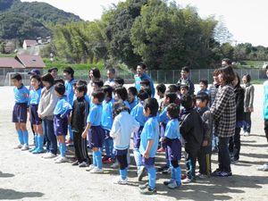 親子サッカー教室 6年生を送る会_c0218303_2372629.jpg