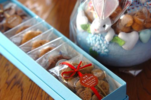 ウサギのカゴが可愛い焼き菓子_a0115906_16594750.jpg