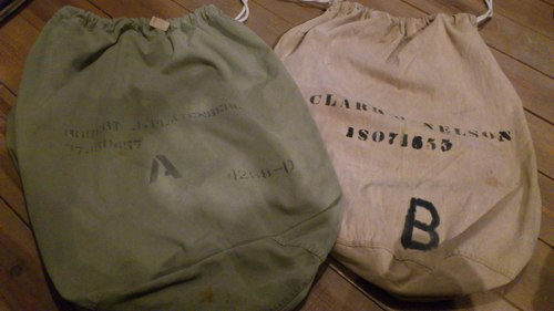 40\'S U.S.Army LaundryBag&お待たせしました。_b0247211_21274263.jpg