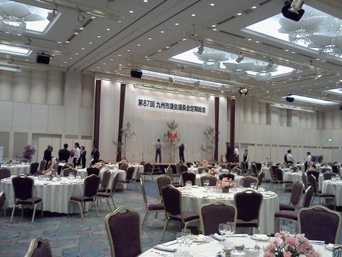 九州市議会議長定例総会で神楽_c0045448_17313974.jpg