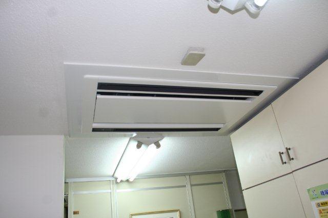 病院のエアコン入替が終了、お引渡しをしました(東京都町田市)_e0207151_1855029.jpg