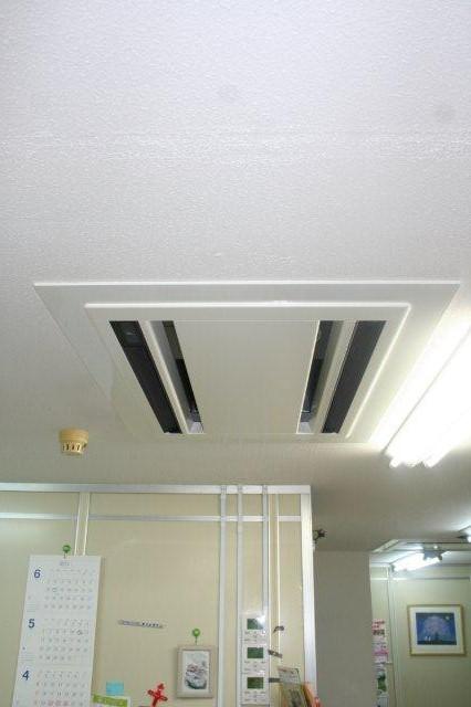 病院のエアコン入替が終了、お引渡しをしました(東京都町田市)_e0207151_186971.jpg