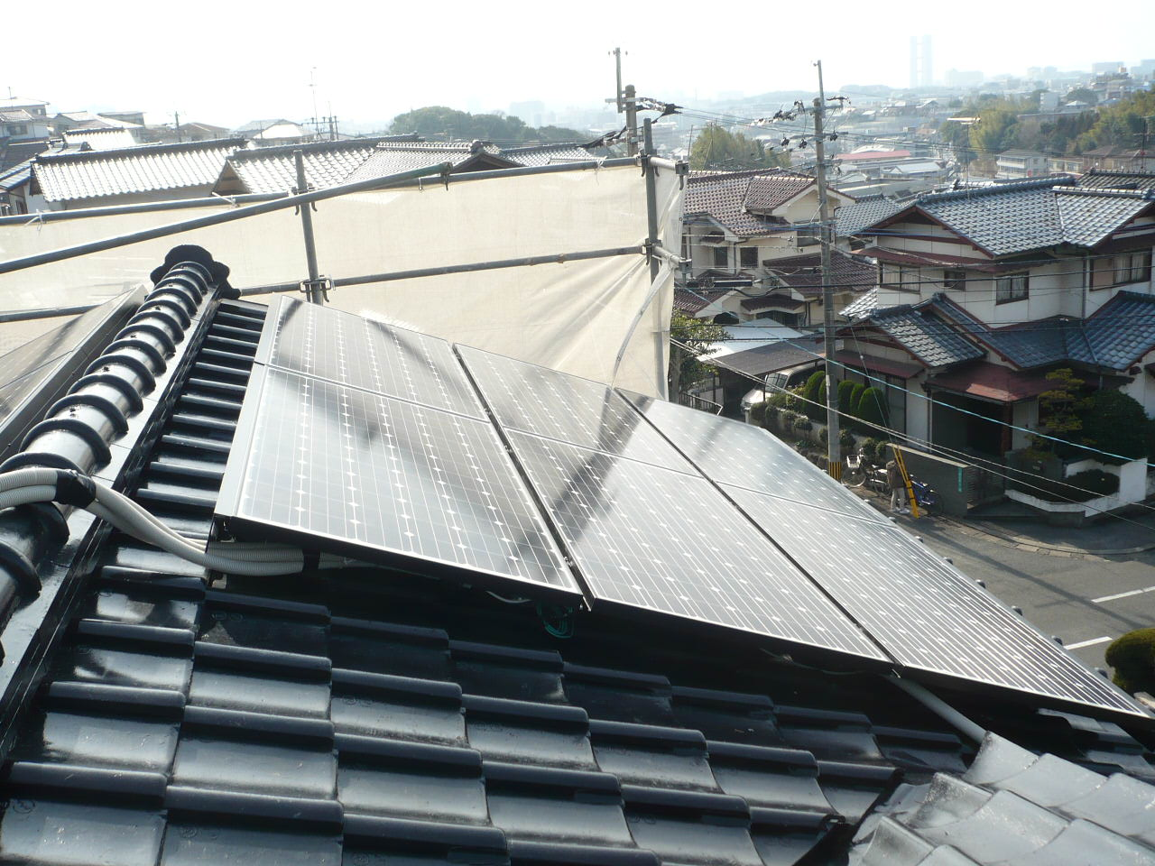 太陽光設置工事_e0268569_16345420.jpg