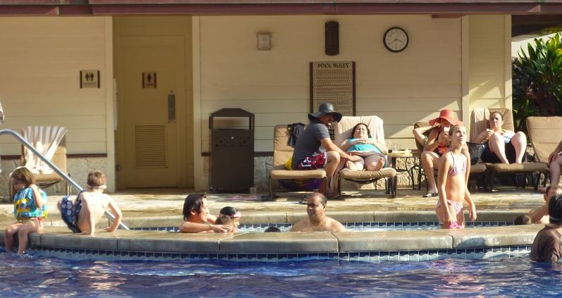 2011~12HAWAIIカウントダウン旅行記~アウトリガーリーフのプールとビーチ~_f0011498_1626760.jpg