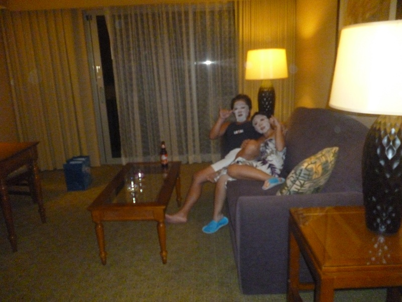 2011~12HAWAIIカウントダウン旅行記~アウトリガーリーフのプールとビーチ~_f0011498_16272010.jpg