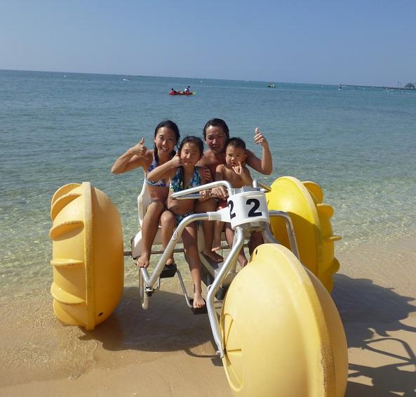 2011~12HAWAIIカウントダウン旅行記~アウトリガーリーフのプールとビーチ~_f0011498_1673857.jpg