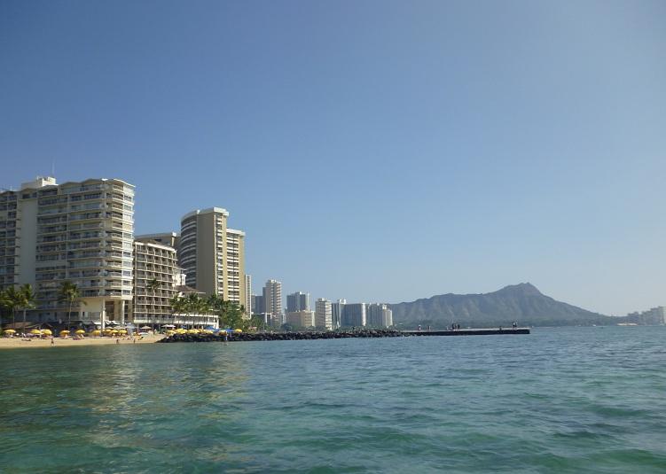 2011~12HAWAIIカウントダウン旅行記~アウトリガーリーフのプールとビーチ~_f0011498_1682835.jpg