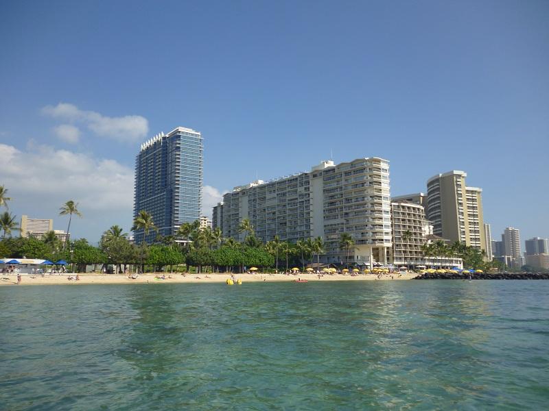 2011~12HAWAIIカウントダウン旅行記~アウトリガーリーフのプールとビーチ~_f0011498_168431.jpg