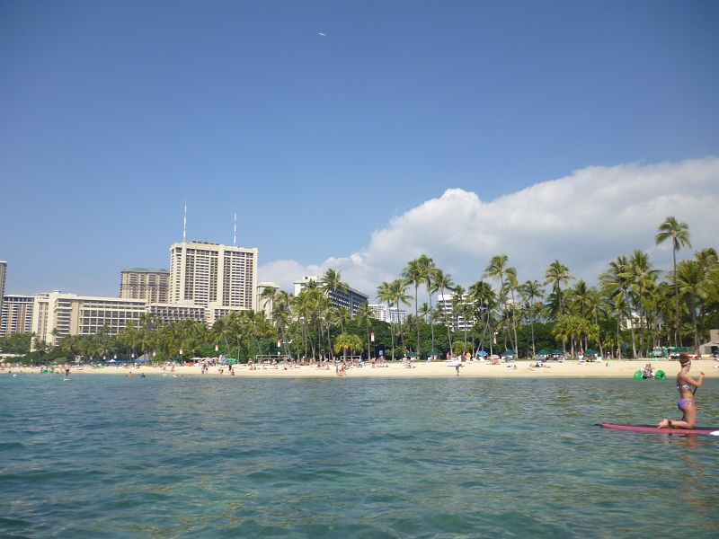 2011~12HAWAIIカウントダウン旅行記~アウトリガーリーフのプールとビーチ~_f0011498_1685913.jpg