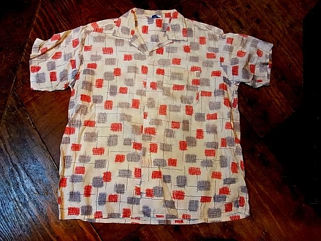 4/28(土)入荷商品!50'S  コットンシャツ!_c0144020_14115047.jpg