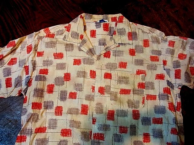 4/28(土)入荷商品!50'S  コットンシャツ!_c0144020_14115263.jpg