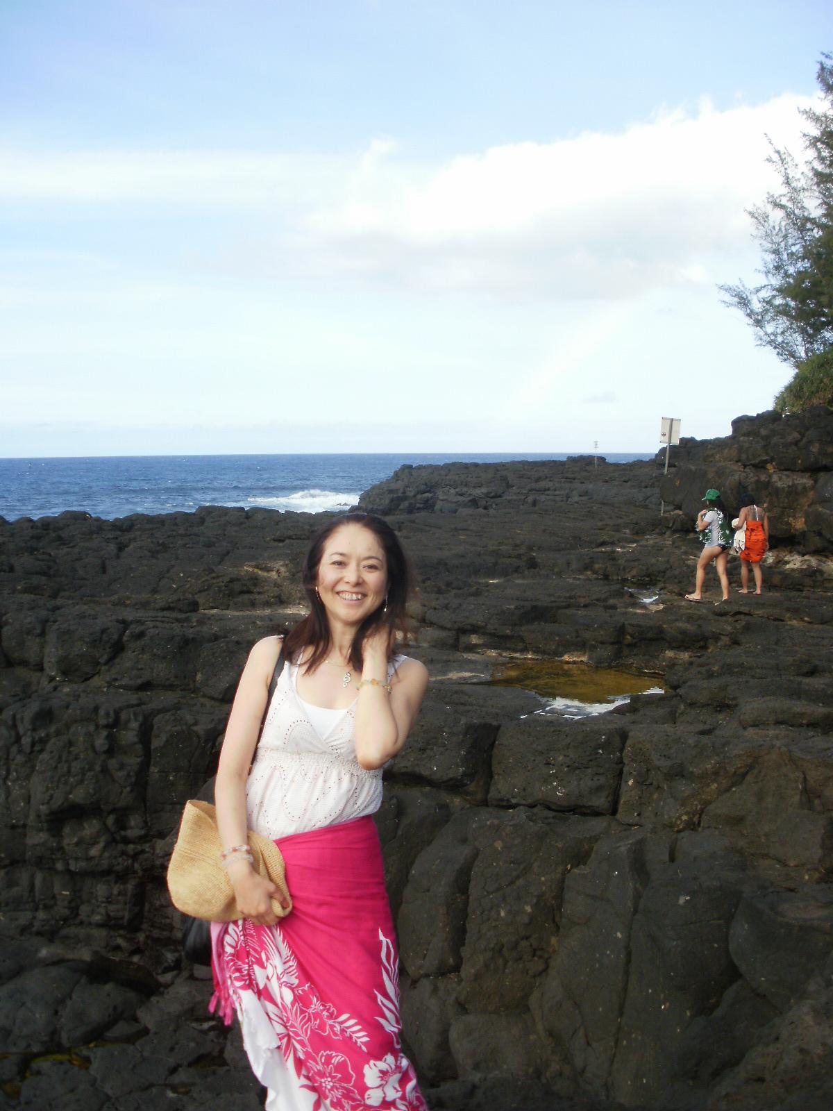 シャスタでの虹とカウアイ島での虹_f0095325_2584834.jpg