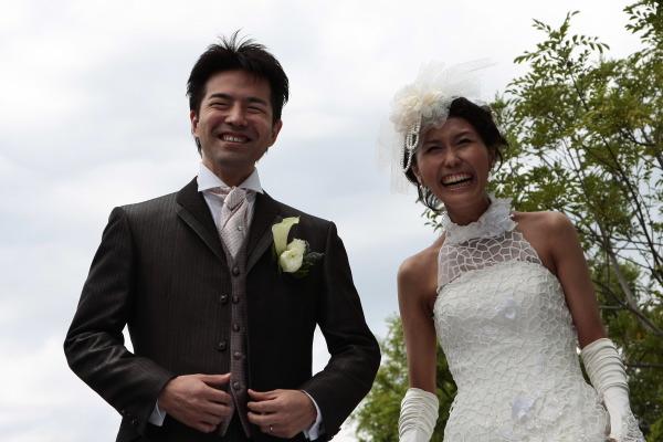 新郎新婦様からのメール 4年目、笑顔という黄金の報酬 XEX代官山 _a0042928_17433430.jpg