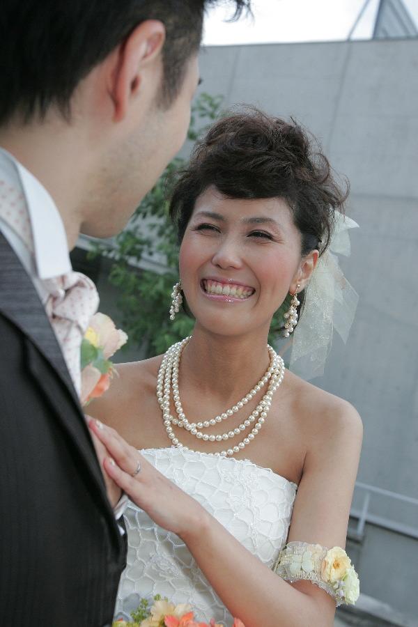 新郎新婦様からのメール 4年目、笑顔という黄金の報酬 XEX代官山 _a0042928_1845514.jpg