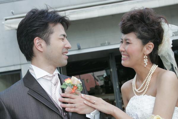 新郎新婦様からのメール 4年目、笑顔という黄金の報酬 XEX代官山 _a0042928_1852271.jpg