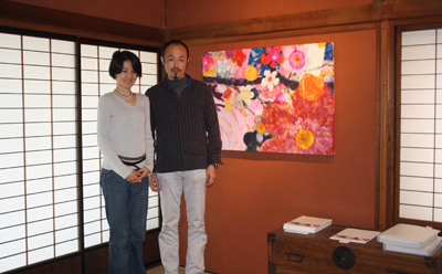 『花が咲いたよ』山口達己・絵画・写真展が始まりました。_d0178448_2571071.jpg
