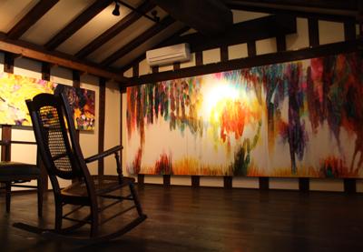 『花が咲いたよ』山口達己・絵画・写真展が始まりました。_d0178448_257116.jpg