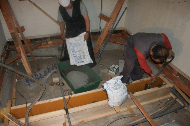 防水・鉄骨補強工事が順調に進んでいます(東京都府中市)_e0207151_17231956.jpg