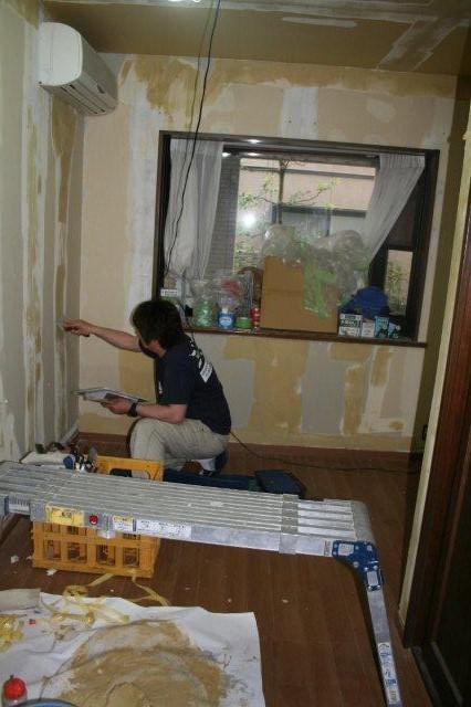 防水・鉄骨補強工事が順調に進んでいます(東京都府中市)_e0207151_17261488.jpg