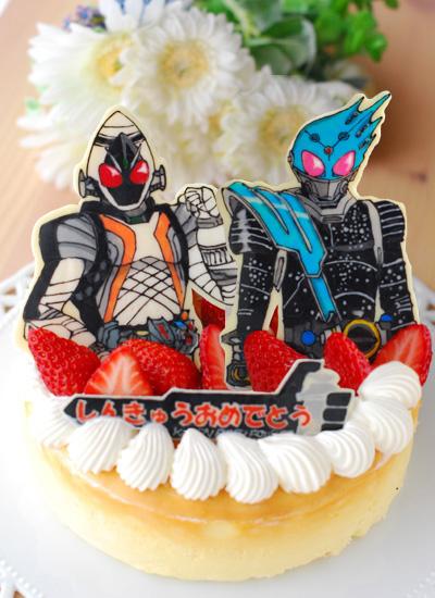 進級祝いのケーキ_c0169657_1595321.jpg