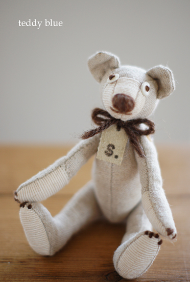 teddy tiny eco girl  ちっちゃなテディ エコガール_e0253364_1133257.jpg