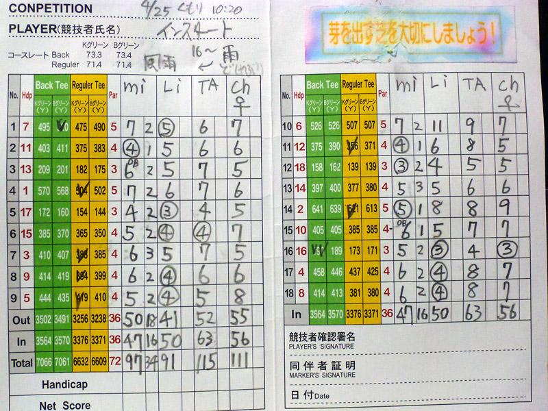4/25 雨天決行 北山カントリー倶楽部_b0042282_22421230.jpg