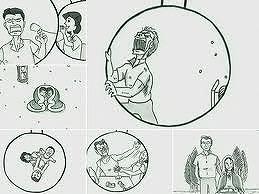 泣けるパラパラ漫画で話題の鉄拳、ラム ワイヤーの新曲「名もない毎日」PVで新作パラパラ漫画制作開始!_e0025035_943934.jpg