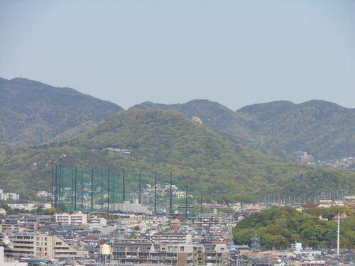 甲山から六甲山経由で摩耶山への稜線ドライブ。_d0083265_19123936.jpg