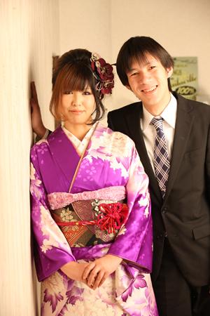 かなえさん、しゅんさん☆婚約記念_b0203705_1818331.jpg