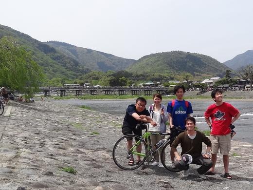 GWの嵐山サイクリング_e0052012_172485.jpg