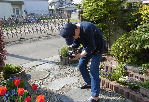 花の庭 _f0214527_1449313.jpg