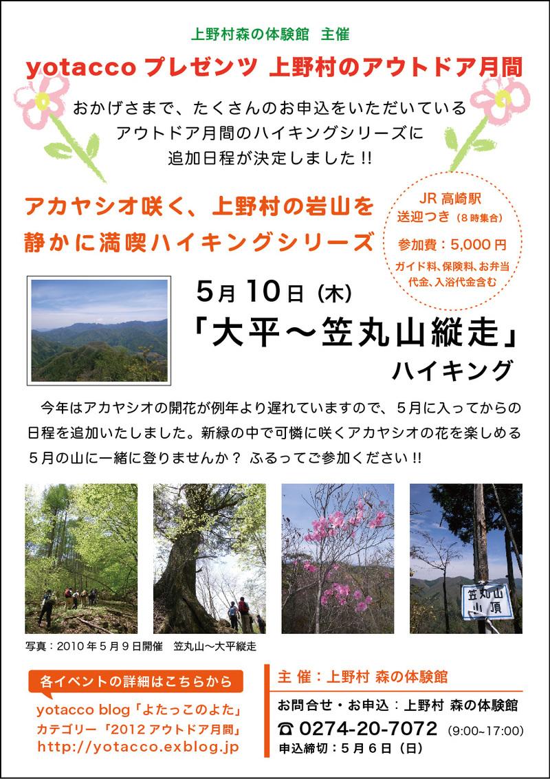4月30日 旧十石街道〜カイト山ハイキング 開催しました。_b0209774_1103231.jpg